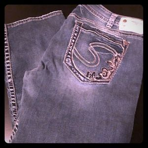 Women's Silver Jeans capris size 34